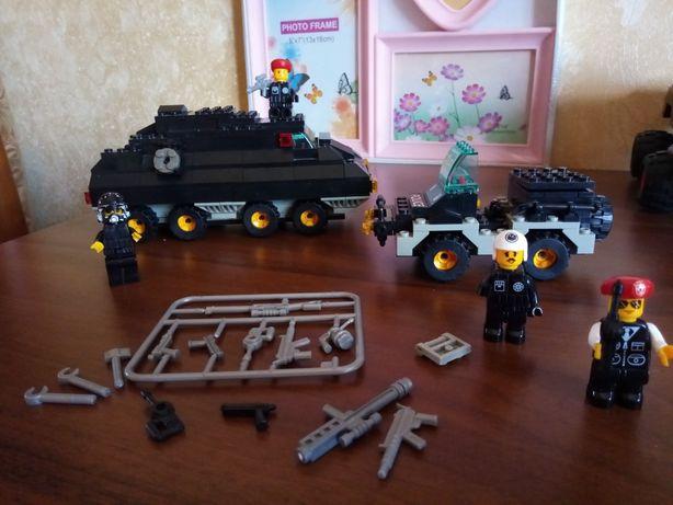 Конструктор Военная полиция. Аналог лего