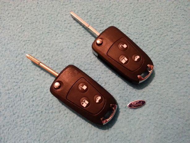 Carcaça capa comando chave ford conversão retratil