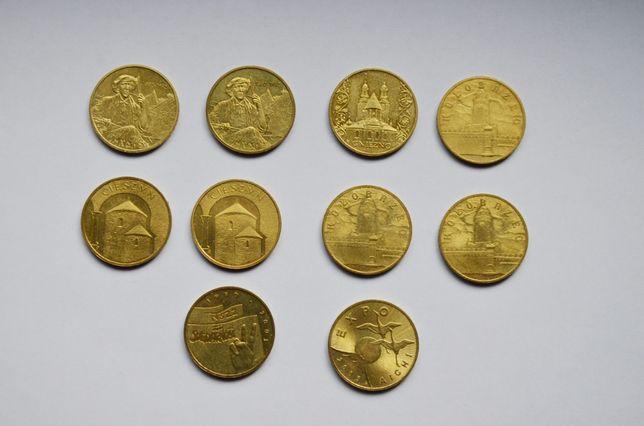 Zestaw 10 monet 2 złotowych rocznik 2005