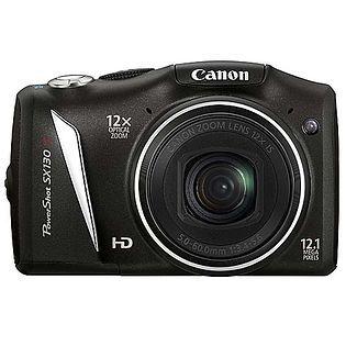Aparat cyfrowy Canon PowerShot SX130IS +karta 4gb +etui, stan idelny!