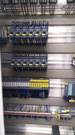 Automatyka przemysłowa, programowanie PLC, regulatory PID