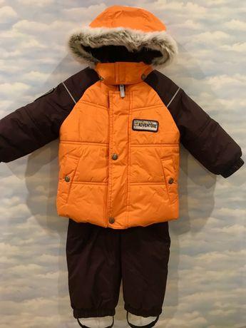 Зимний комплект Lenne Dako (куртка и полукомбинезон), 74 см