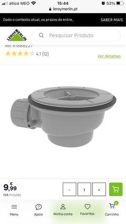 Valvula para base de duche NOVA (2 disponiveis)
