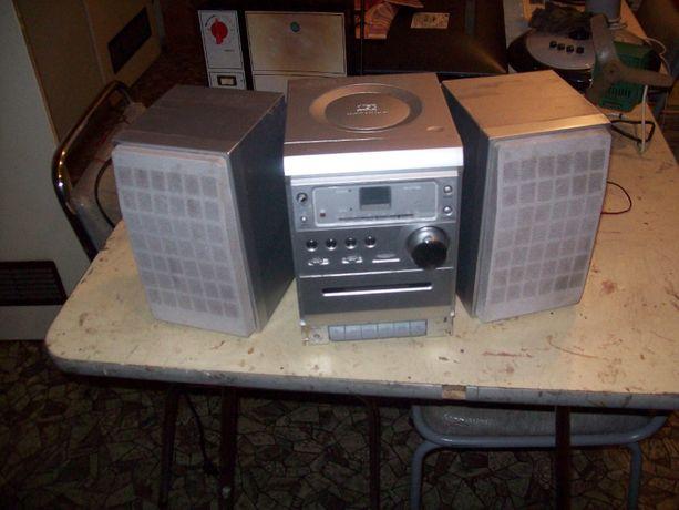 radio wieżyczka cd radio kasety