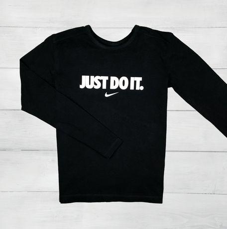 Czarny  longsleeve Nike just do it