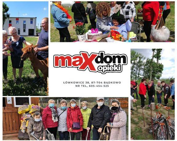 """Pobyt w całodobowym Domu Opieki """"MAX"""""""