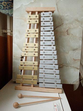 Cymbałki monochromatyczne 16 Tonowe firmy Presto NOWE