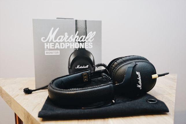 Słuchawki Marshall Monitor nauszne czarne