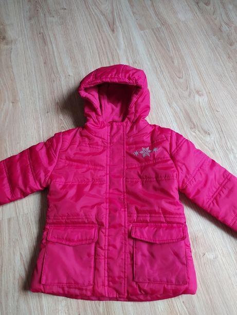 67-> różowa kurtka LUPILU na polarze r.92 18-24mca