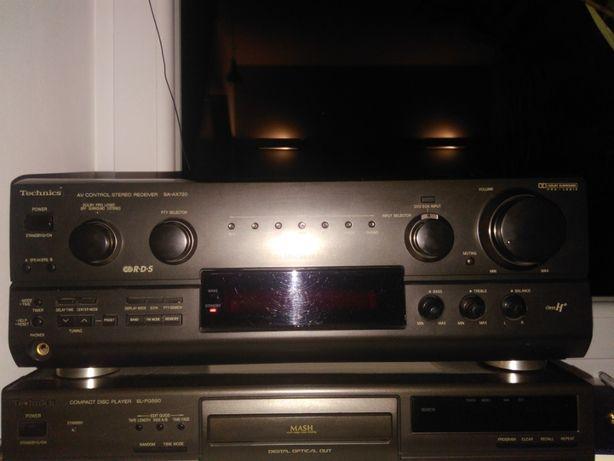 Amplituner Technics SA-AX720 - Stan IDEALNY - Jeden właściciel.