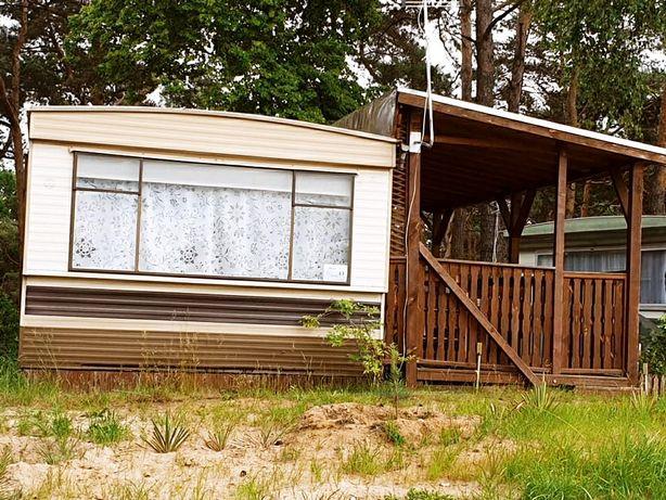 Domek holenderski/przyczepa nad jeziorem Szarcz Duży ośrodek Jeziorak