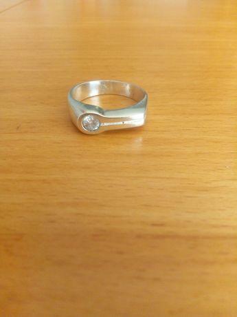 Srebrny pierścionek r.14