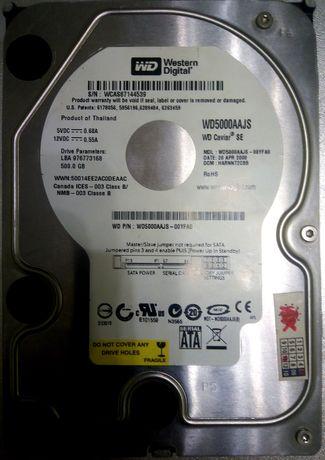 HDD Western Digital 500 Gb (Для ПК)