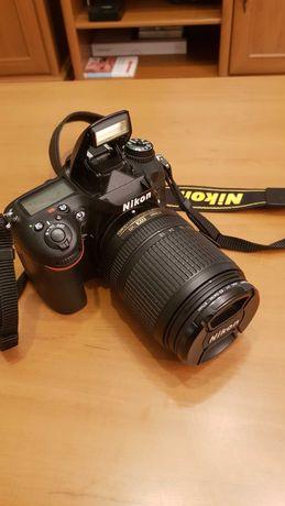 Nikon D7100 czarny +18-140 VR stan idealny