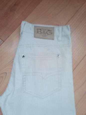 Мужские брюки светло бежевые