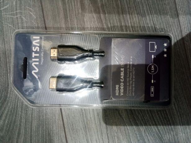 Cabo HDMI 1,5m novo e embalado