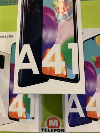 Ursynów Galeria - Samsung Galaxy A41 A415F/DSN black nowy