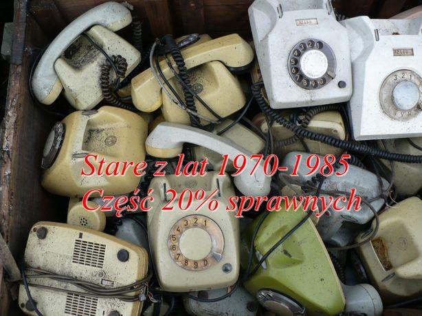 Telefony stacjonarne z lat 1970-85 dla kolekcjonera majsterkowicza