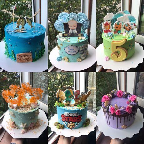 Торт на заказ от 350грн/кг