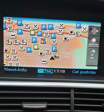 polskie menu audi a6 a8 q7 a4 a3 mmi2g rnse aktualizacja map audi bmw