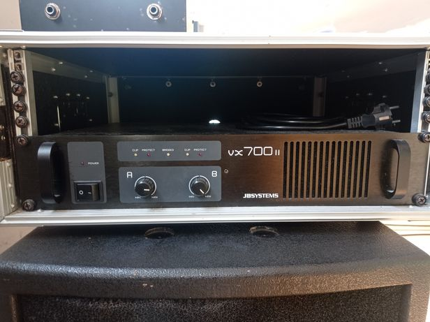 Amplificador JBSYSTEM VX-700 II + caixa