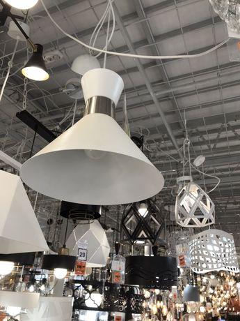 OBI - Lampa metalowa WAIST biała PRZECENA