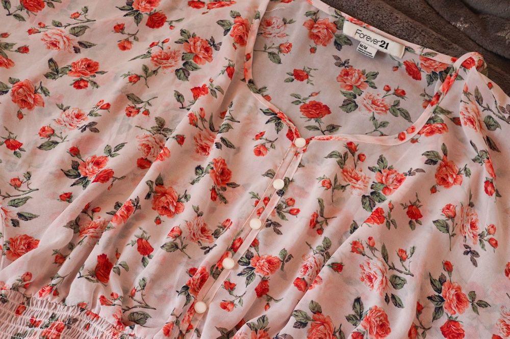 New Блузка Forever 21 / Цветочный принт Черкассы - изображение 1
