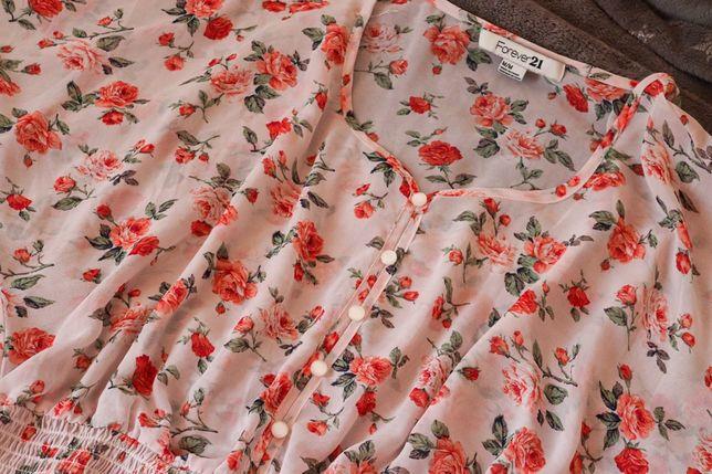 New Блузка Forever 21 / Цветочный принт