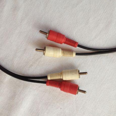 Kabelek 2 x cinch/2 x cinch, kabel dł. 75 cm