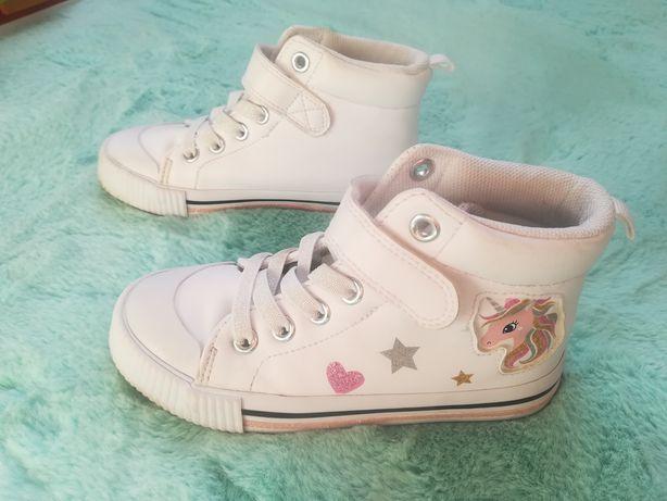 Buty (trampki) dziewczęce z jednorożcem r. 28
