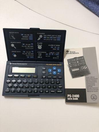 Calculadora Texas PS 2400 Data Bank. Nunca usada