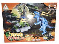 Klocki Dino World Atak na Niebieskiego Dinozaura