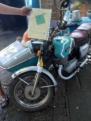 Продам мотоцикл иж планета 3 с коляской
