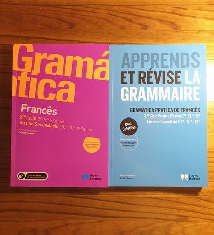 Gramática Francês + manual exercícios