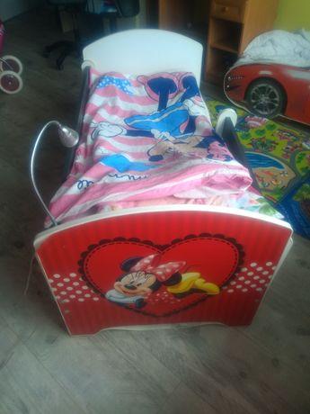 Łóżko myszka Minnie dla dziewczynki