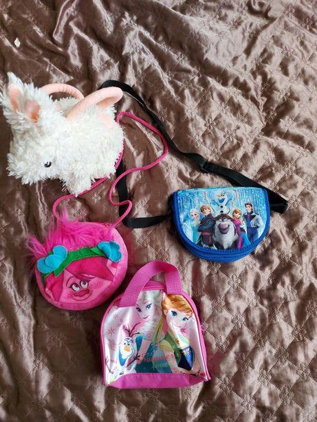 Torebka kraina lodu, troll, Poppy, Anna i Elsa możliwa wysyłka