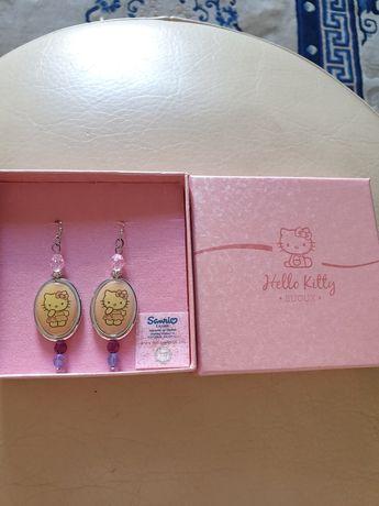 Brincos da Hello Kitty