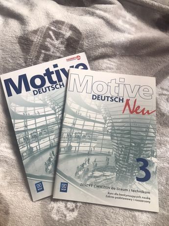 Motive Deutech Neu 3 podręcznik+ćwiczenia