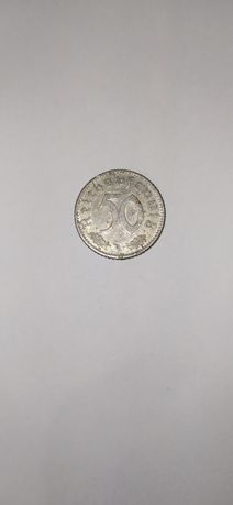 Монета 50 Рейхспфеннигов