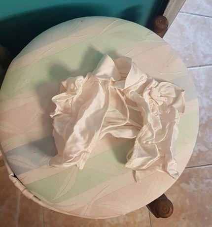 Blusa em cetim branco para Nenuco ou similar
