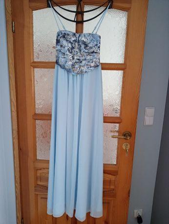 Sukienka maxi 34 36 orsay cekiny nowa