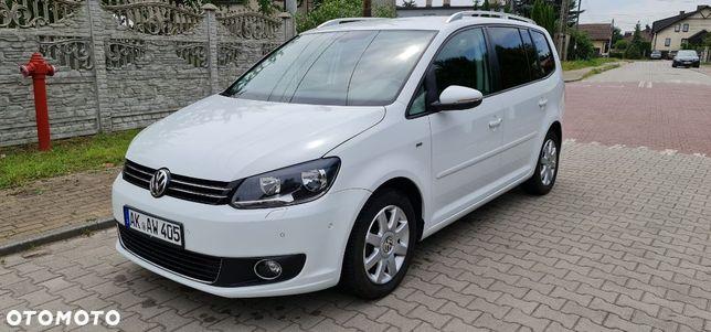 Volkswagen Touran 7 Osobowy Sewis Asso Webasto Klima Sam Parkuje Mały Przebieg 123