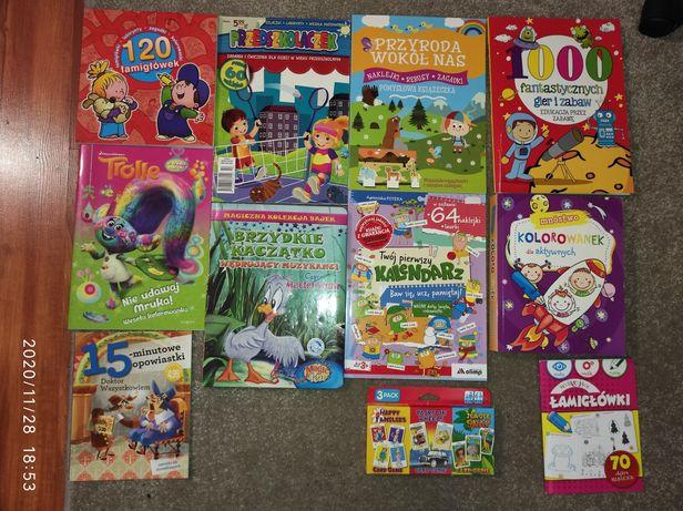 Książki dla dzieci różne