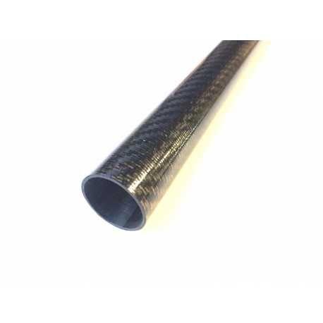 2 X Tubo Carbono - Medidas 25X23X500mm