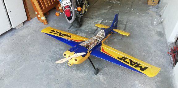 MXS-R elektryk 1920mm RC samolot akrobat sterowany