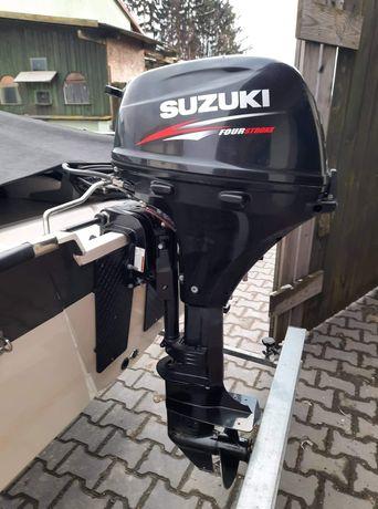 Silnik zaburtowy Suzuki 20 2016r. na wtrysku, z manetką