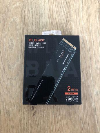 Новые оригинальные SSD WD Black SN850 M.2 2TB NVMe.