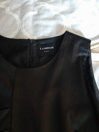 Vestido preto lanidor