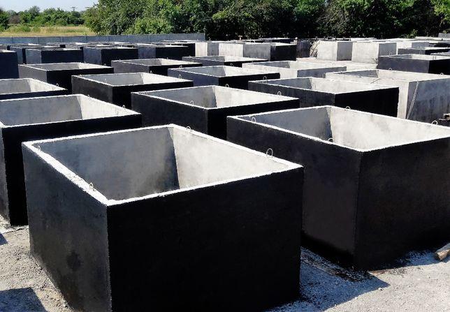 Zbiornik betonowy na ścieki, szambo betonowe 12m3