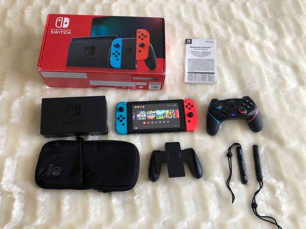 Nintendo Switch v1 (прошитая, чипованная SX core)
